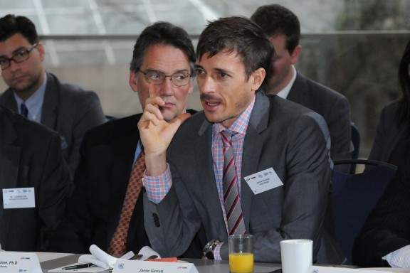 Jamie Garratt from Idea Rebel at Minister's Roundtable