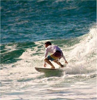Jamie Garratt Surfing