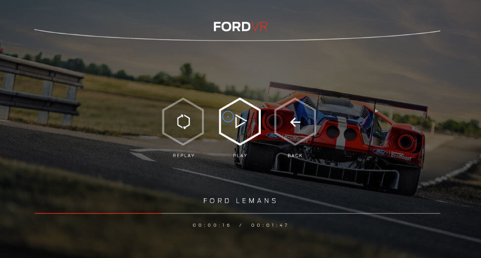 Ford design screenshot