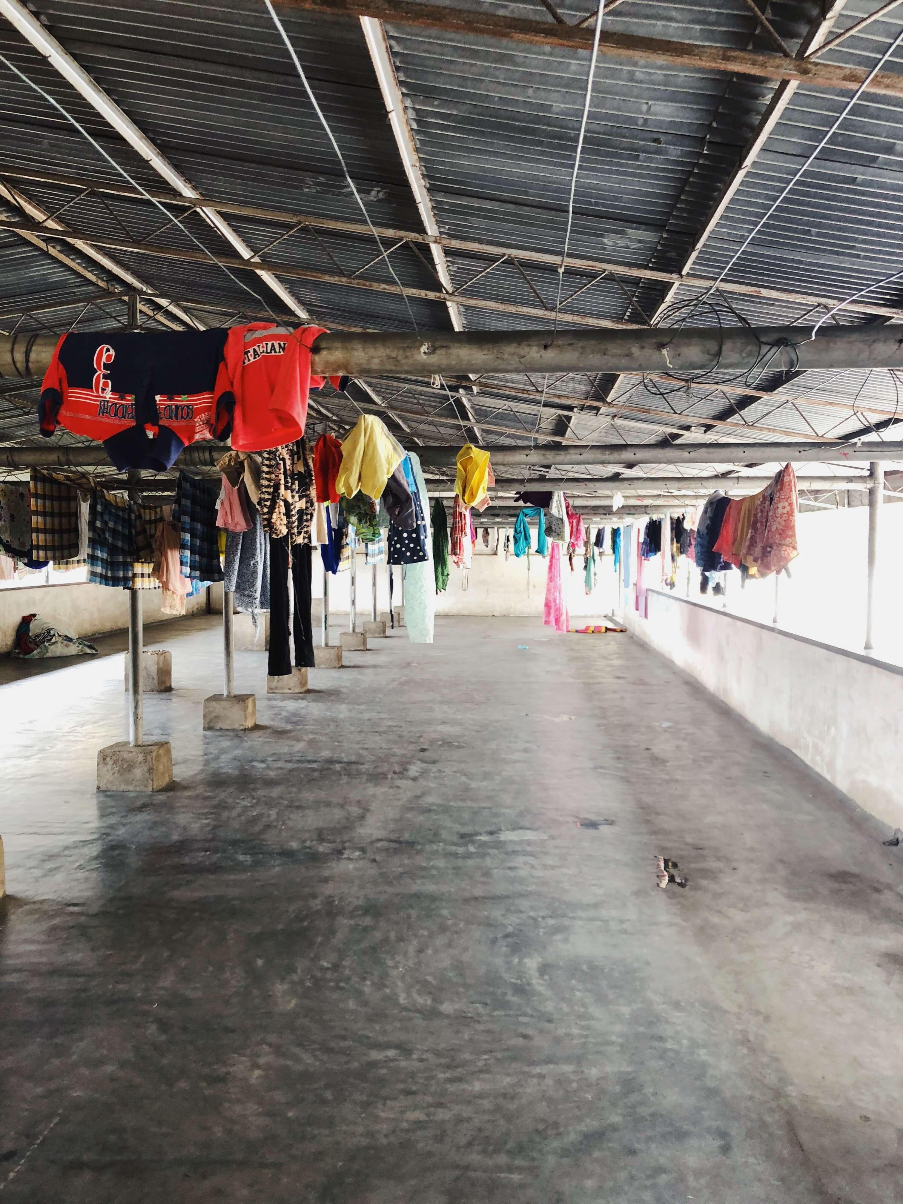 Daya Nivasa's laundry room
