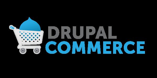 Drupal Commerce Logo ecommerce platform