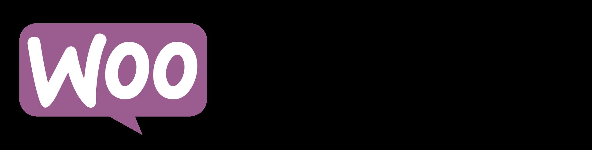 Woo Commerce Logo ecommerce platform